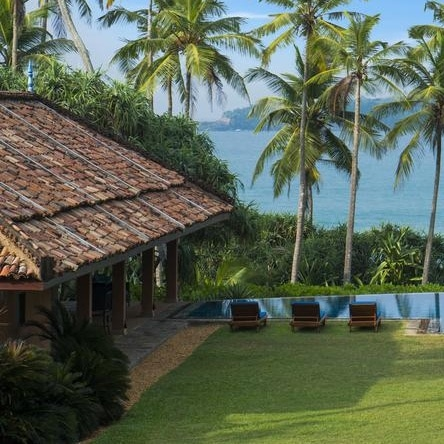 beachfront villa in sri lanka
