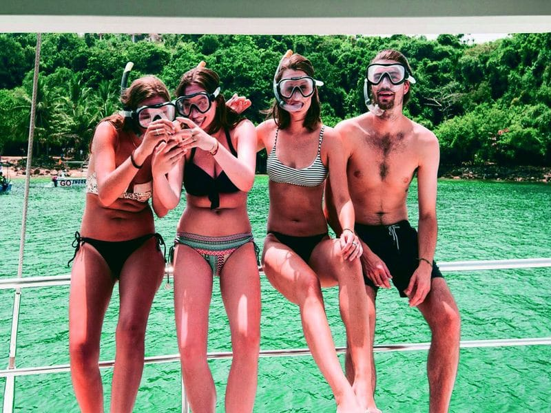 snorkelling in Pasikudah beach