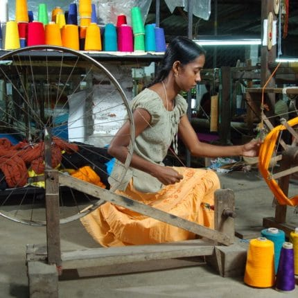 sri lanka cotton weaving